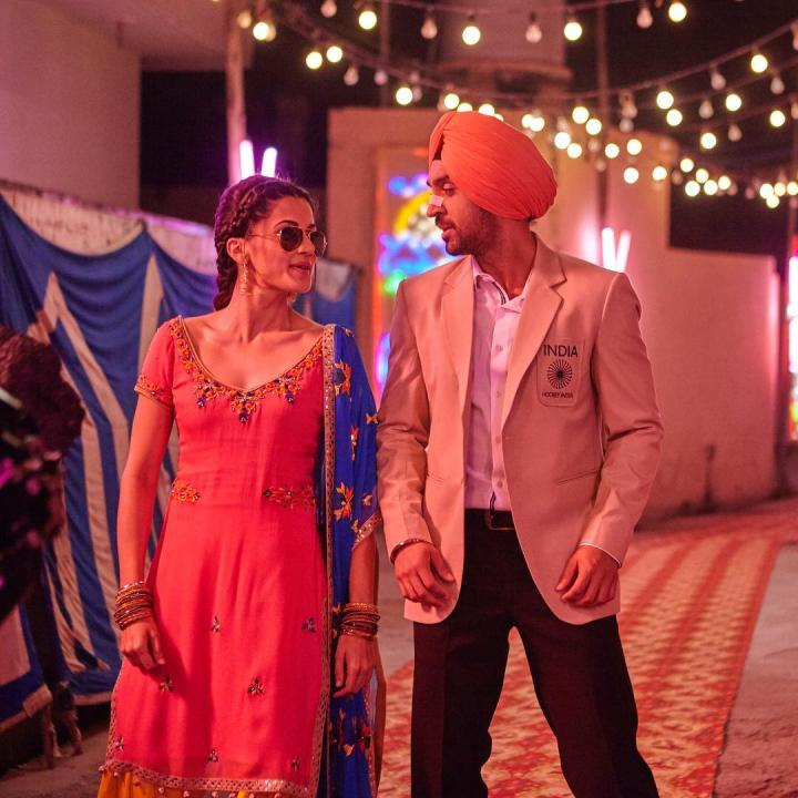 Taapsee Pannu With Diljit Dosanjh
