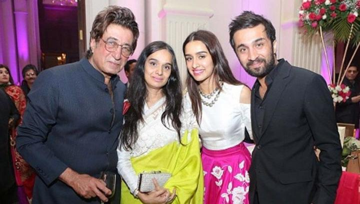 Shraddha Kapoor With Family