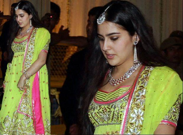 Sara Ali Khan is the daughter of actor Saif Ali Khan and his first wife Amrita Singh.