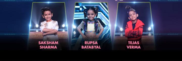 Super dancer top 12 contestants 1