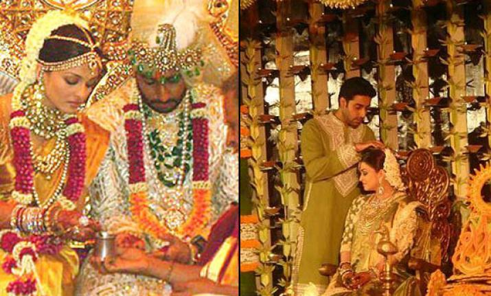 Aishwarya Rai Wedding Pictures