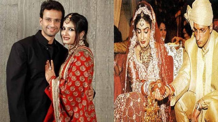 Raveena Tandon marriage