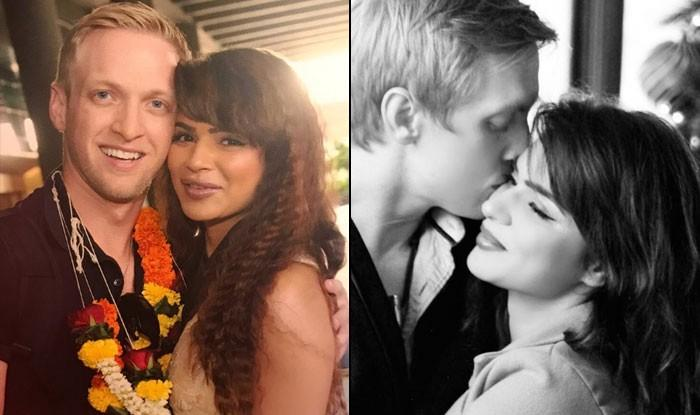 Aashka Goradia With Brent Goble