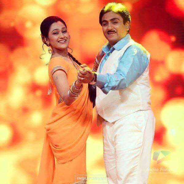 Disha Vakani With Dilip Joshi
