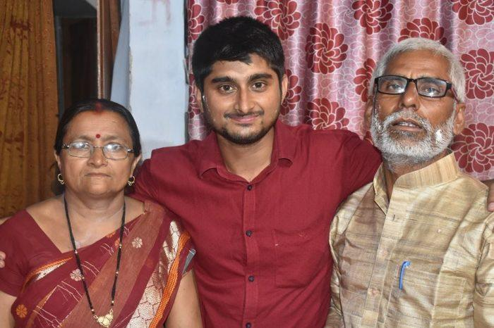 Deepak Thakur With Family