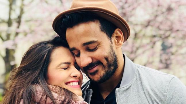 Anita Hassanandani With Husband