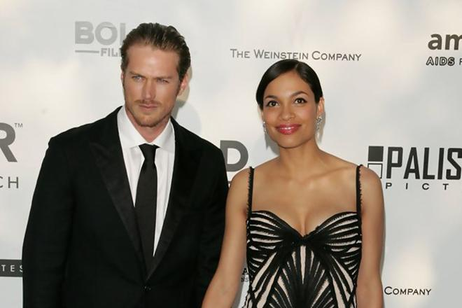 Rosario Dawson with Lewis