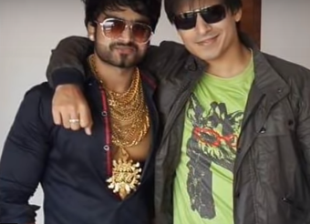 sunny waghchaure with vivek oberoi