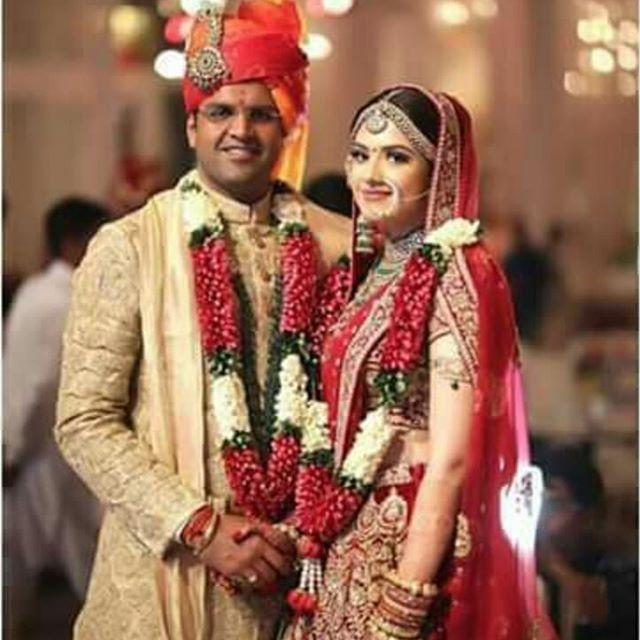 Dushyant Chautala With His Wife