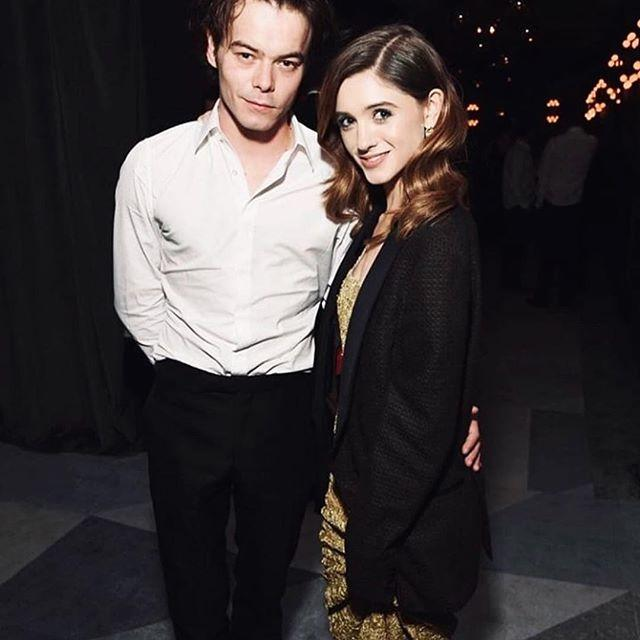 Charlie Heaton with Natalia Dyer