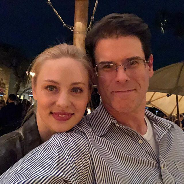 Deborah Ann Woll with EJ Scott
