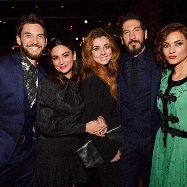 Ben Barnes with The Punsiher Cast