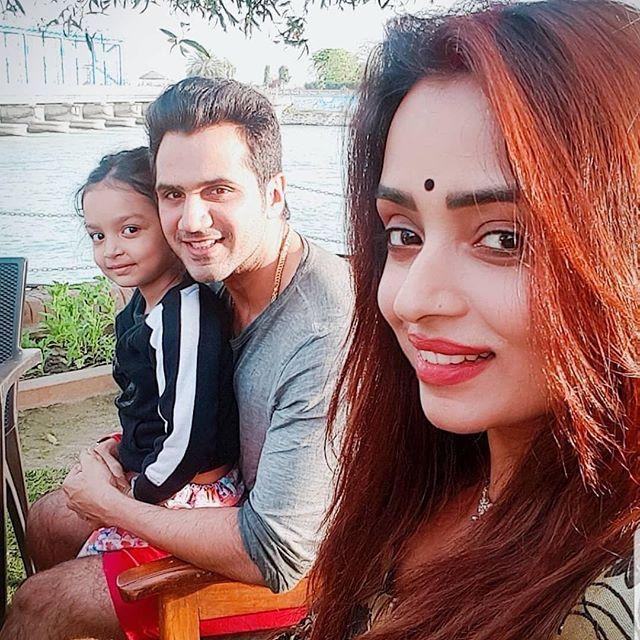 Parul Chauhan With Husband